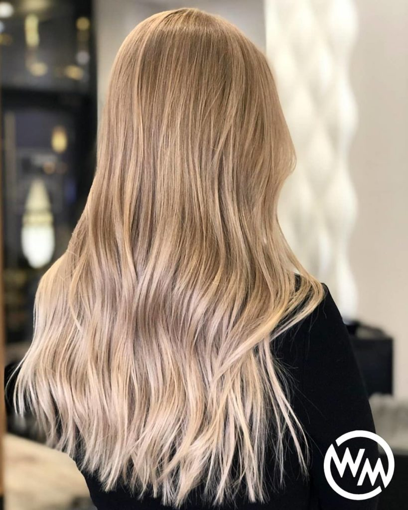 long straight ombre hair