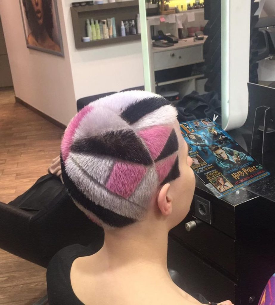 buzz colorly hair
