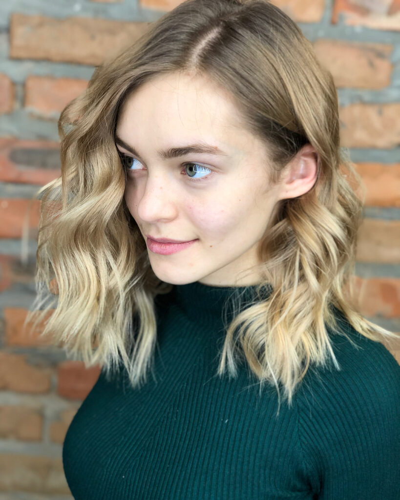blonde ombra hairstyle