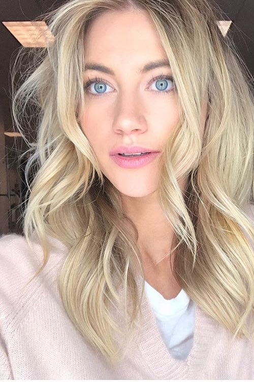 blonde thin hairstyle