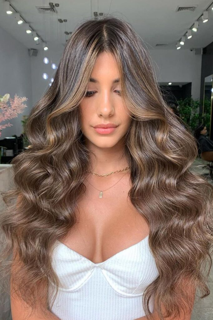 long tresses hairstyle
