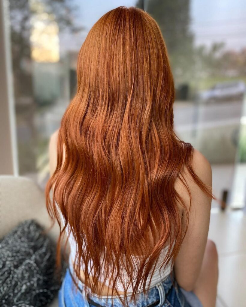 Copper Hair Color And Ombre