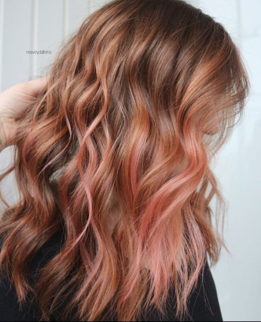 Wavy Ombre Hair