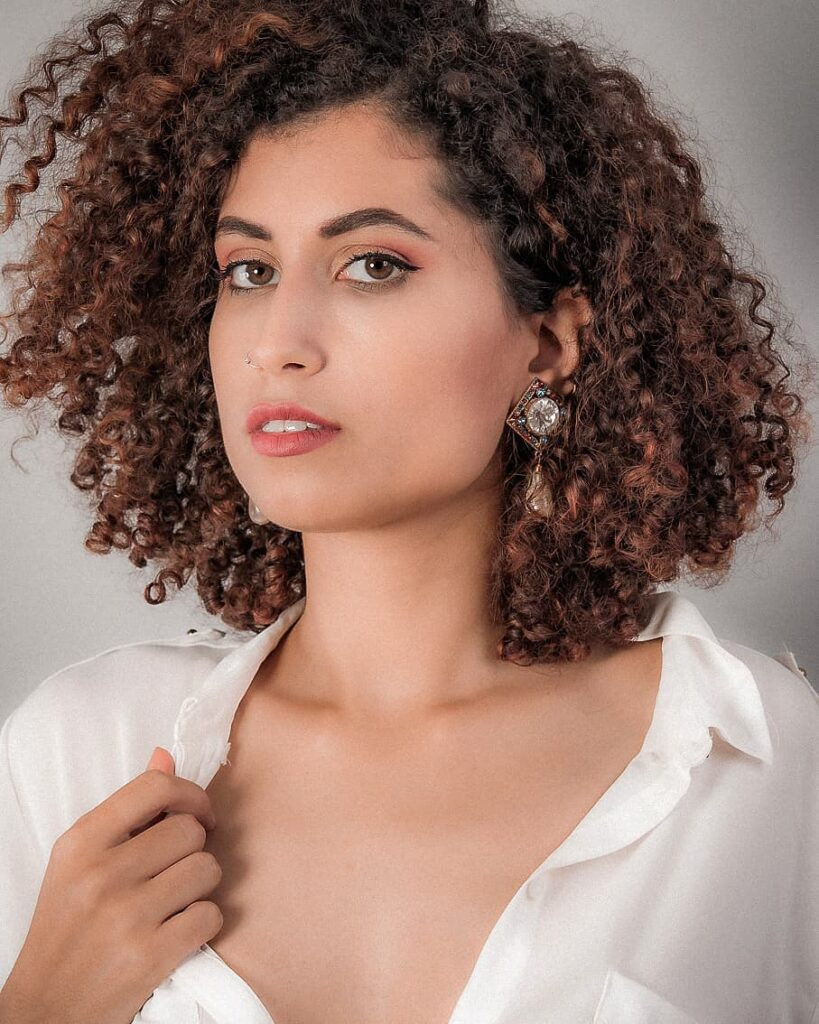 Intense Curly Hairstyle