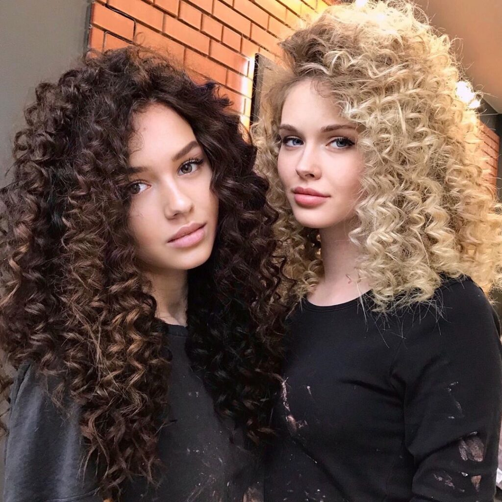 Curly Ombre Hairstyles